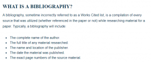 guidelines on how to write a bibliography in mla style a research