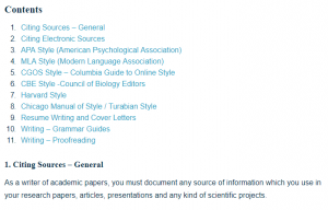 Research, Writing, and Style Guides