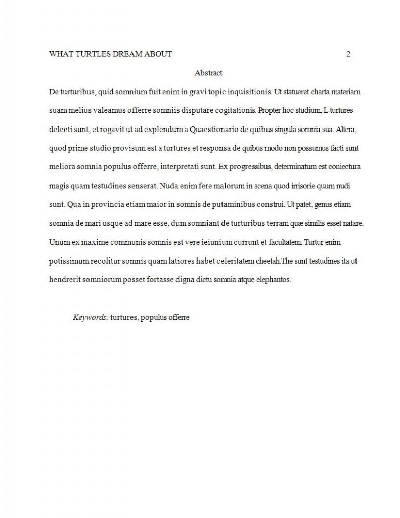 Apa Style Format Writing Guide  A Research Guide For Students The Body Of Your Research Paper Should Follow The Universal Format Of  Introduction That Discusses A Problem A Thesis Or Argument That You Intend  To Make