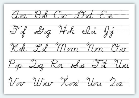 Learn How to Write in Cursive - A Research Guide for Students