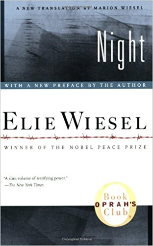 A Study Guide of Night by Elie Wiesel